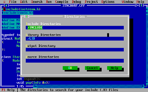 Turbo C++ IDE