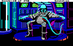Screen shot of Space Quest II